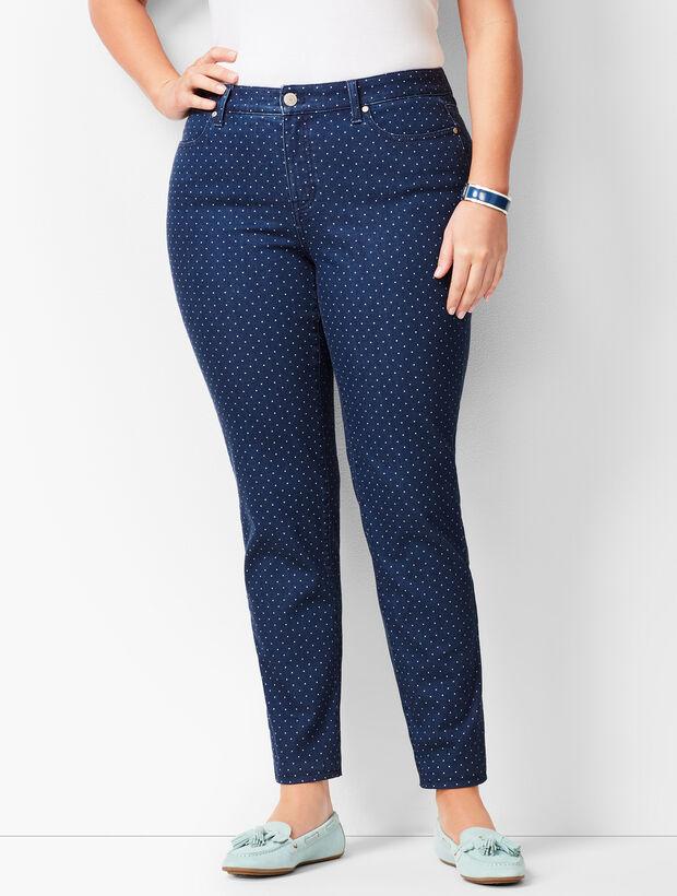 Slim Ankle Jeans - Dot