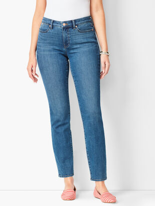 Slim Ankle Jeans - Curvy Fit - Equinox Wash