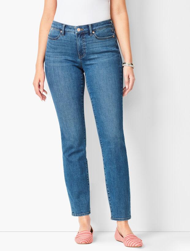 Slim Ankle Jeans - Curvy Fit - Equinox Wash