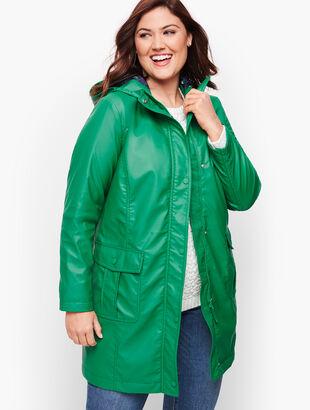 Classic Hooded Rain Jacket