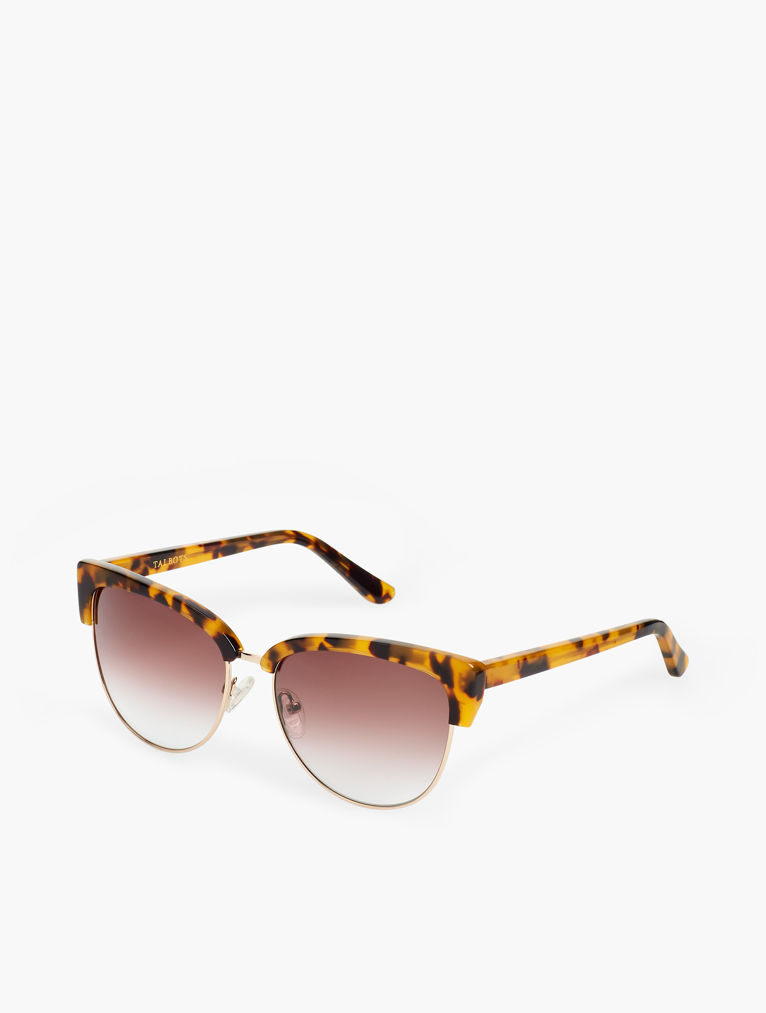 Finished in a sleek honey tortoise. Neutral rims make them easy to wear with any outfit. Features Frame Shape: Square Microfiber Pouch Imported Material: 100% Plastic Tracey Sunglasses - Tokyo Tort - 001 Talbots