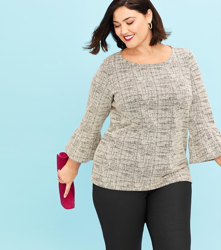 Plus Size Petite Clothing | Talbots