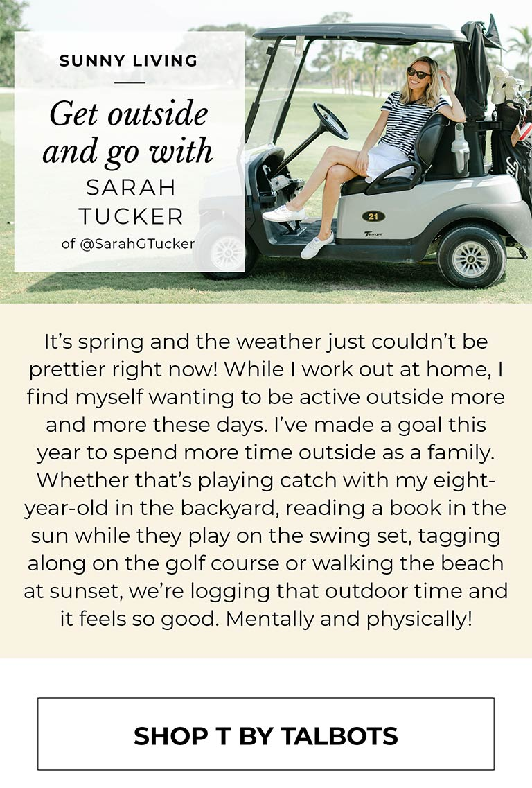 Get outside and go with Sarah Tucker of @SarahGTucker