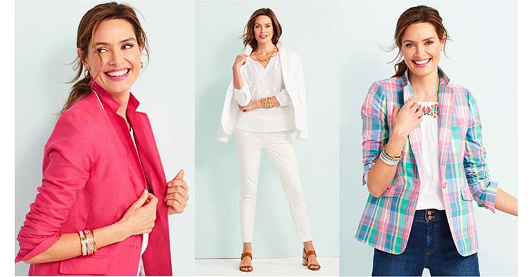 The Summer Blazer. Shop Jackets. Shop the Story.