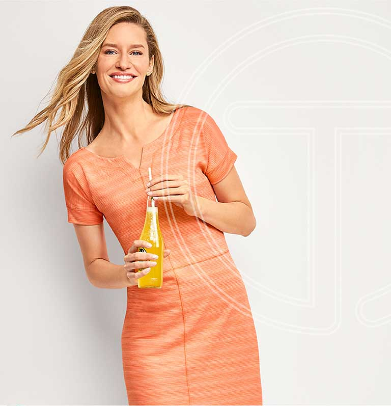 Life at its MOST casual. T BY Talbots.