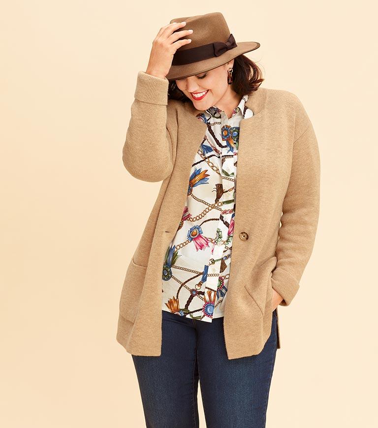 Plus Size Clothing   Talbots