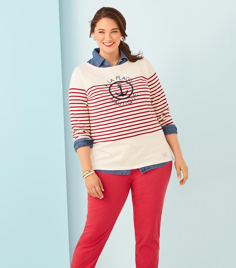 9be9b09b953b3 Plus Size Petite Clothing | Talbots