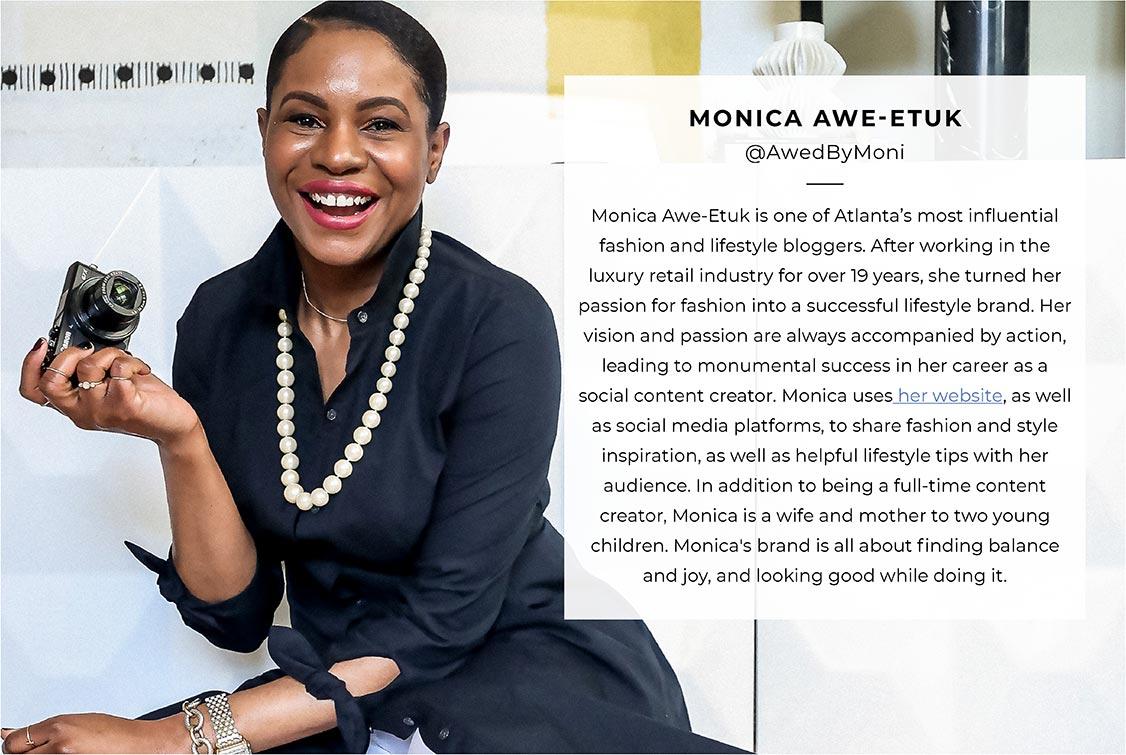 Create fresh new looks with Monica Awe-Etuk of @AwedbyMoni