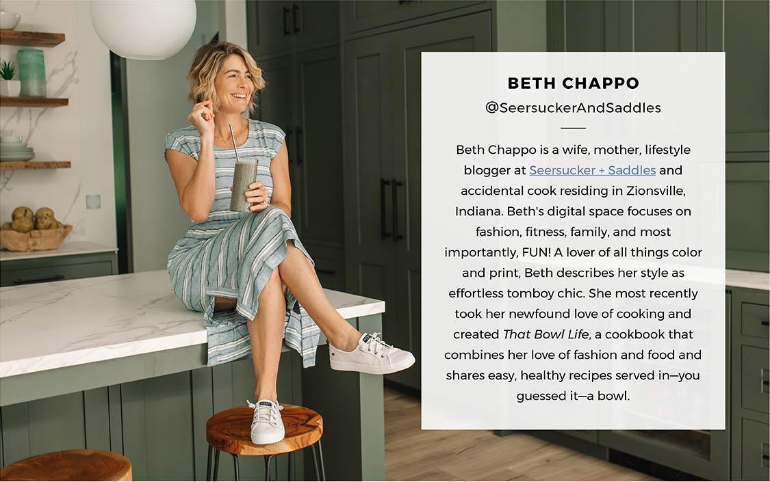 Fresh summer looks with Beth Richardson