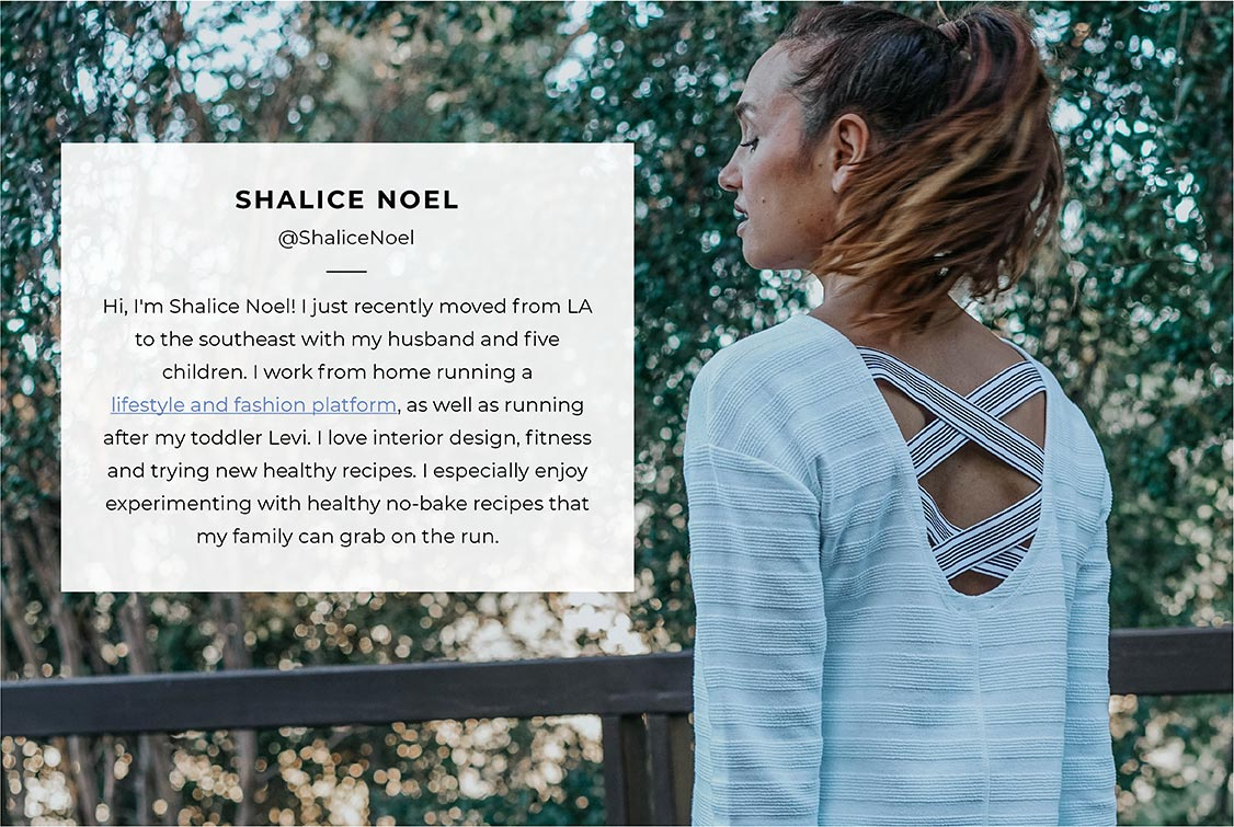 Live a healthy life with Shalice Noel of @ShaliceNoel