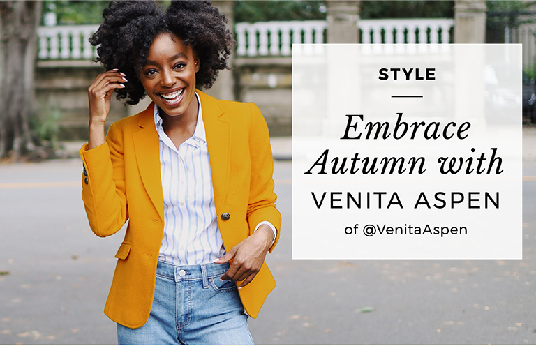 Embrace Autumn with Venita Aspen